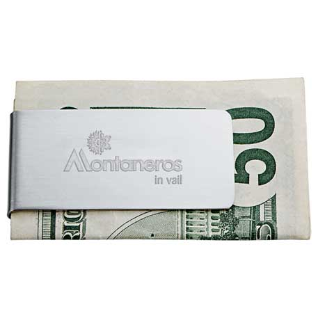 Zippo Money Clip, 7550-31-L, 1 Colour Imprint
