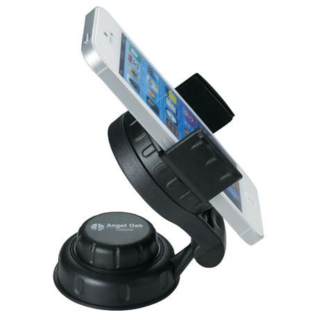 Deluxe Swivel Dashboard Phone Holder, 3350-61, 1 Colour Imprint
