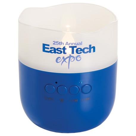 Candle Light Bluetooth Speaker, 7198-75, 1 Colour Imprint