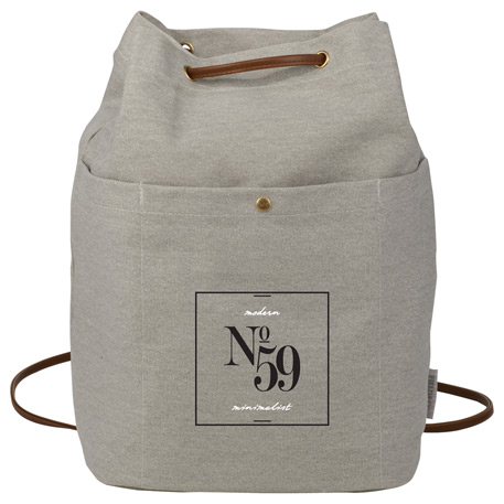 Field & Co. Convertible 16oz. Cotton Canvas Tote, 7950-14 - Debossed Imprint
