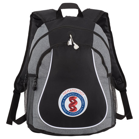 Coil Backpack, 3250-99 - 1 Colour Imprint