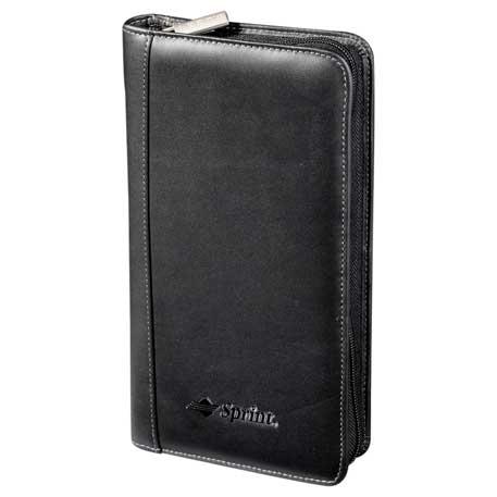 Millennium Leather Travel Wallet, 9500-64-L, Debossed Logo