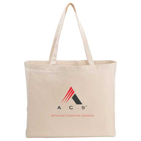 6oz Cotton Canvas All-Purpose Tote, 7900-47 - 1 Colour Imprint