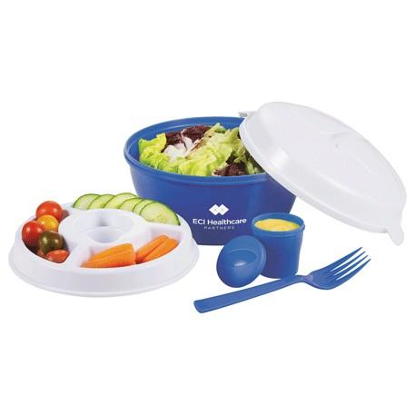Colour Dip Salad Bowl Set, 1031-83 - 1 Colour Imprint