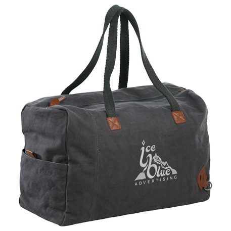 Alternative Premium Cotton Weekender Tote, 9004-03, Embroidered Imprint