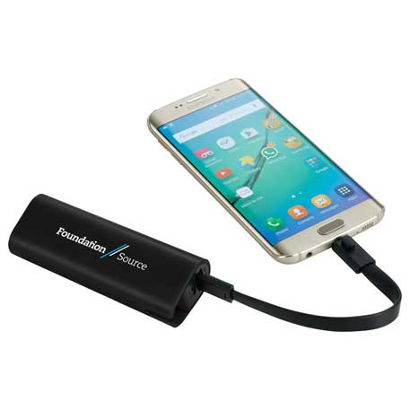 UL Listed Chamber Power Bank with Cord Storage, 7121-05, 1 Colour Imprint