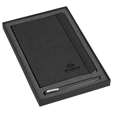 Pedova Soft Bound JournalBook Bundle Gift Set, 7200-34 - 1 Colour Imprint