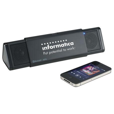 ifidelity Sideswipe NFC Bluetooth Speaker, 7199-36 - 1 Colour Imprint