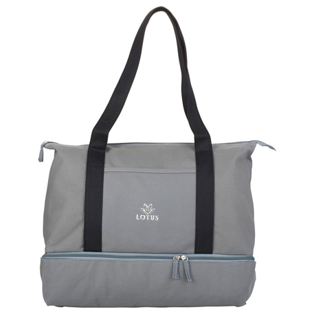 16 oz. Cotton Canvas Weekender Tote, 7900-70 - 1 Colour Imprint