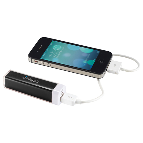 Amp 2,200 mAh Power Bank, 7120-17-L, 1 Colour Imprint