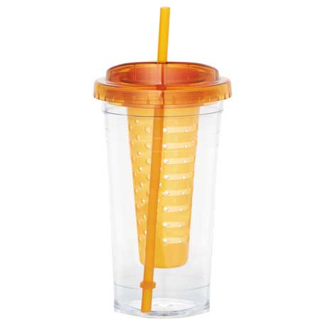 Cool Gear Sedici Fruit Infuser Tumbler 24oz, 1624-10 - 1 Colour Imprint