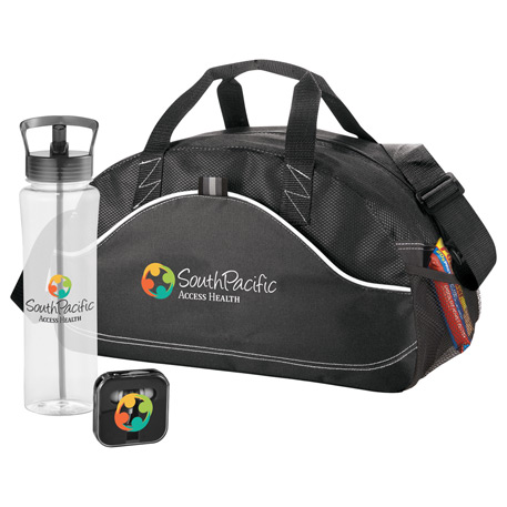 Gym Essentials Gift Set, 0044-07 - 1 Colour Imprint