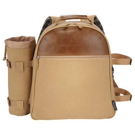 Field & Co. Cambridge Picnic Backpack Set, 7950-92 - Debossed Imprint