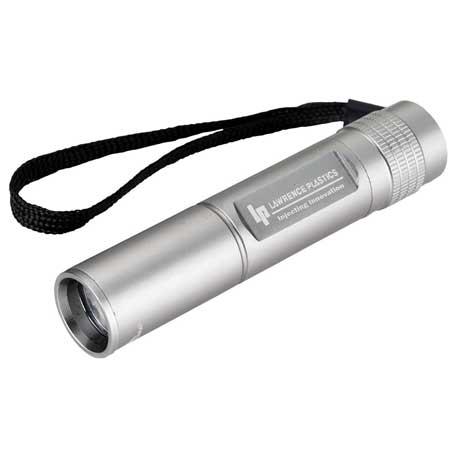 High Sierra IPX-4 CREE R3 Flashlight, 8052-42 - Laser Engraved Imprint