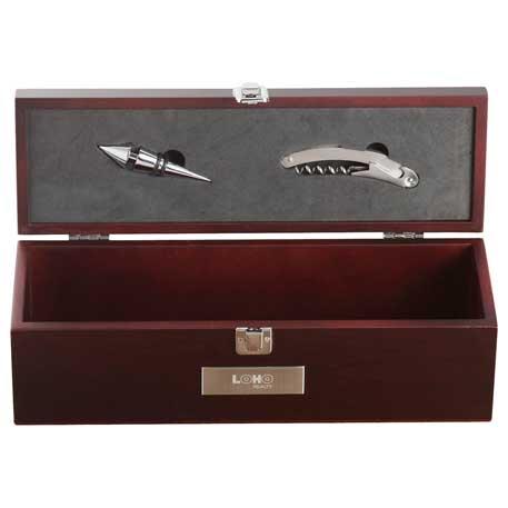 Executive Napa Wine Case, 1400-70 - Laser Engraved Imprint