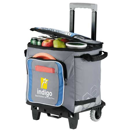 Arctic Zone(R) IceCOLD 50 Can Rolling Cooler, 3860-50, 1 Colour Imprint