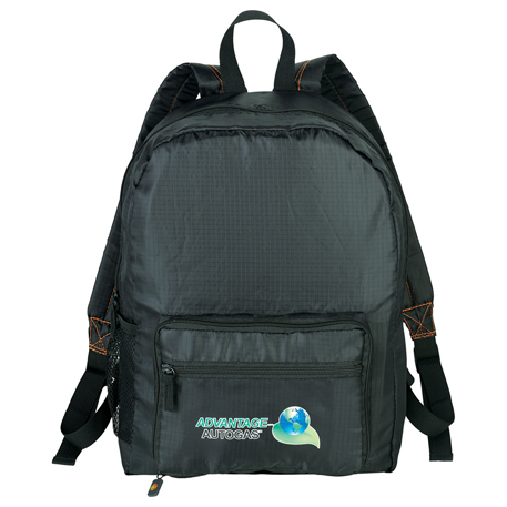 BRIGHTtravels Packable Backpack, 7007-08, 1 Colour Imprint