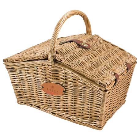 Picnic Time Piccadilly Picnic Basket, 8008-05, Deboss Imprint