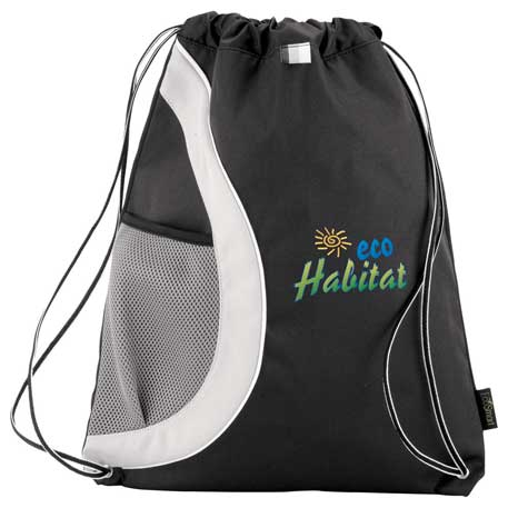 Arches Recycled PET Drawstring Sportspack, 3005-80 - 1 Colour Imprint