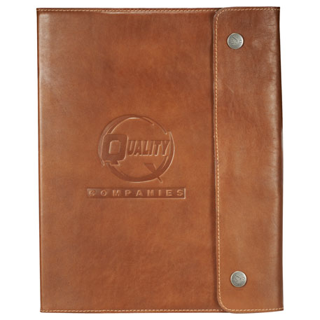 Alternative Leather Refillable Journal, 9004-35 - Debossed Imprint