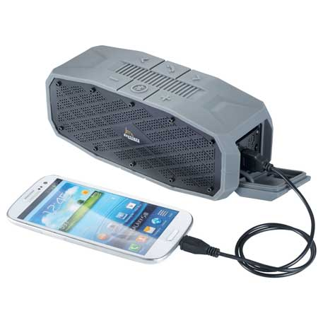 High Sierra(R) Lynx Outdoor Bluetooth Speaker/Charge, 8052-17, 1 Colour Imprint