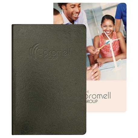 Ambassador Graphic Page Bound JournalBook, 2900-03, Deboss Imprint