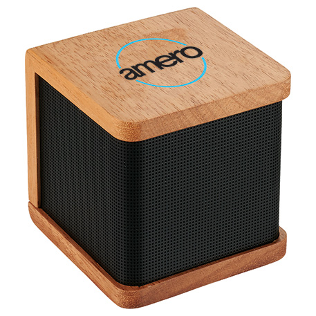 Seneca Bluetooth Wooden Speaker, 7199-91, Laser Engraved Imprint