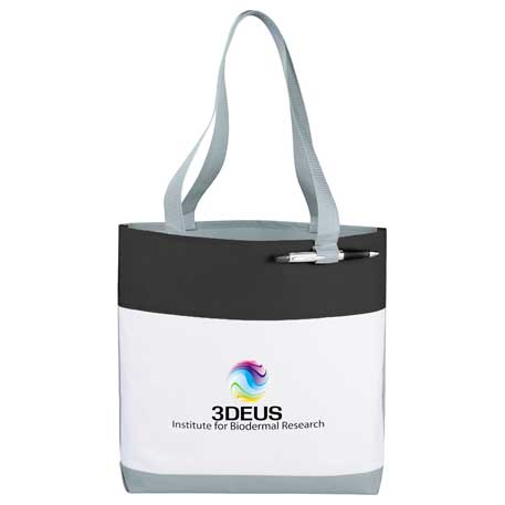 Great White Convention Tote, 2301-10, 1 Colour Imprint