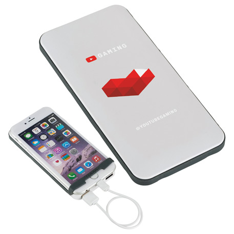 UL Listed Zoom Energy Rally 6,000 mAh Power Bank, 7003-53-L, 1 Colour Imprint