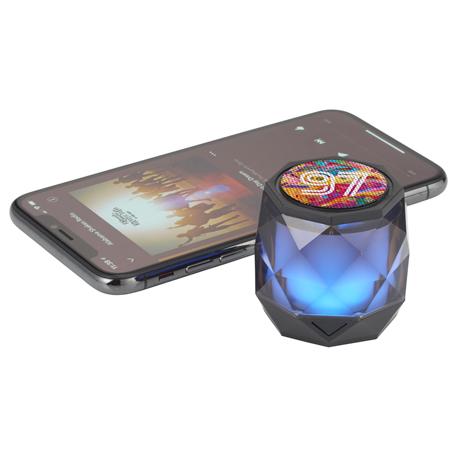 Disco Light Up Bluetooth Speaker, 7197-10-L, 1 Colour Imprint