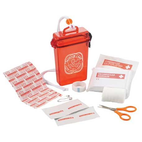 StaySafe 20-Pc Waterproof First Aid Kit, 3350-79, 1 Colour Imprint