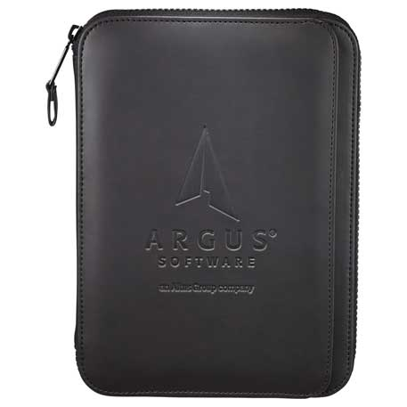 Tranzip Zippered Padfolio, 2020-11, Deboss Imprint