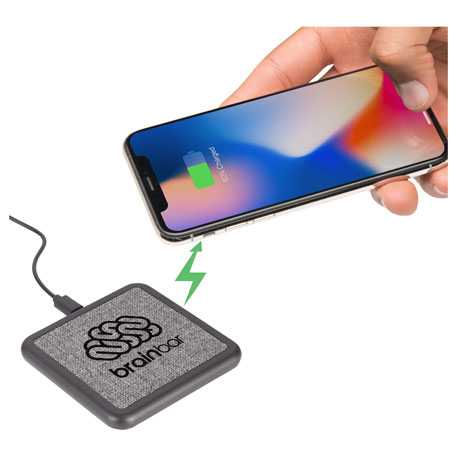 Solstice Wireless Charging Pad, 7141-24, Laser Engraved Imprint