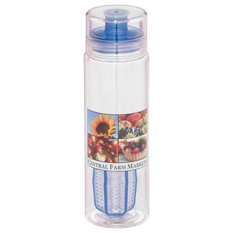 Trinity BPA Free Infuser & Shaker Bottle 25oz, 1625-08, 1 Colour Imprint