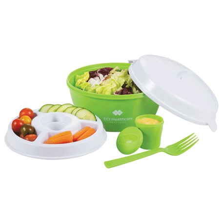 Color Dip Salad Bowl Set, 1031-83, 1 Colour Imprint