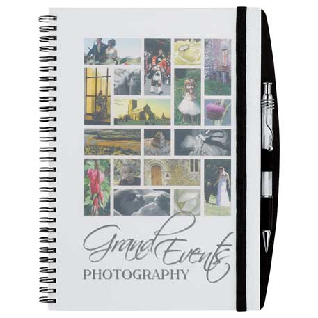 Reveal Large Spiral JournalBook, 2700-17, Full Colour Imprint