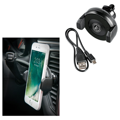 Stir Wireless Charging Phone Mount, 7141-12, 1 Colour Imprint