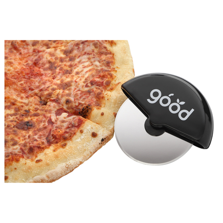Handheld Pizza Cutter with Stainless Steel Blade, 1031-54-L, 1 Colour Imprint