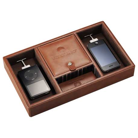 Cutter & Buck Legacy Valet and Charging Station, 9830-21 - Debossed Imprint