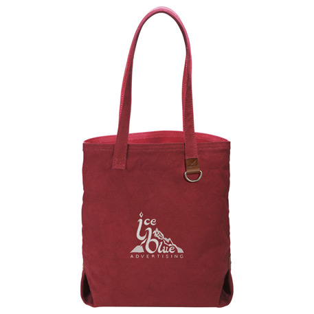 Alternative Cotton Shopper Tote, 9004-04, Embroidered Imprint