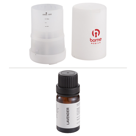 Electronic Aromatherapy Oil Diffuser, 7140-73 - 1 Colour Imprint