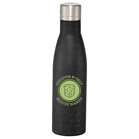 Speckled Vasa Copper Vacuum Insulated Bottle 17oz, 1626-11, Laser Engraved Imprint