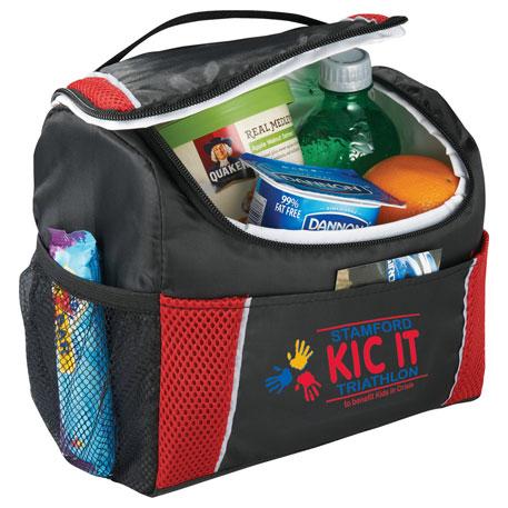 Peak 6 Can Lunch Cooler Bag, 2180-05, 1 Colour Imprint