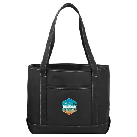 18 oz. Colour Cotton Canvas Boat Tote, 7900-57 - 1 Colour Imprint