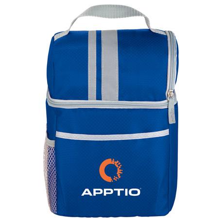 Double Compartment Lunch Bucket Cooler, 6760-60 - 1 Colour Imprint