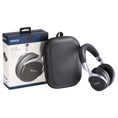 Denon Global Cruiser Bluetooth Headphones w/ANC, 7198-53, Deboss Imprint