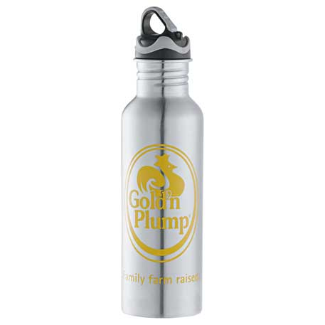 Colorband Stainless Bottle 26oz, 1622-37, 1 Colour Imprint