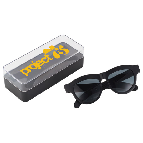 Sunglasses with Bluetooth Speaker, 7198-37 - 1 Colour Imprint