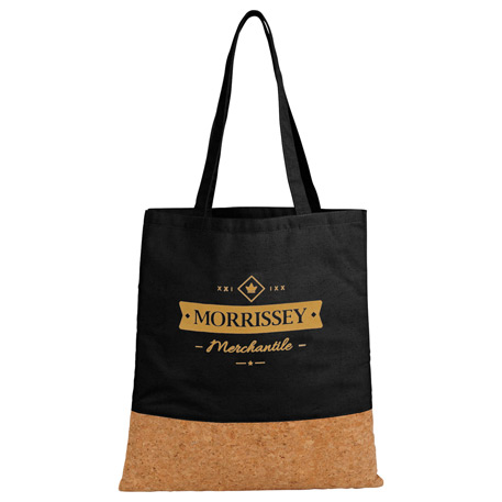 Cotton and Cork Convention Tote, 2160-62, 1 Colour Imprint