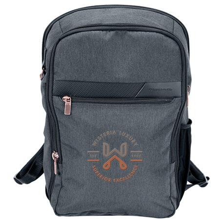 "Cutter & Buck Slim 15"" Computer Backpack, 9870-53, 1 Colour Imprint"